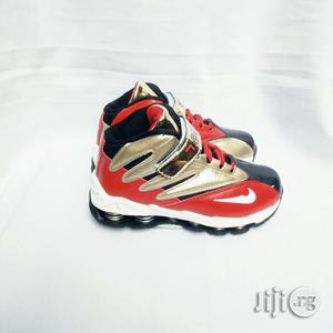 Gold and Red Canvas   Children's Shoes for sale in Lagos State, Lagos Island (Eko)