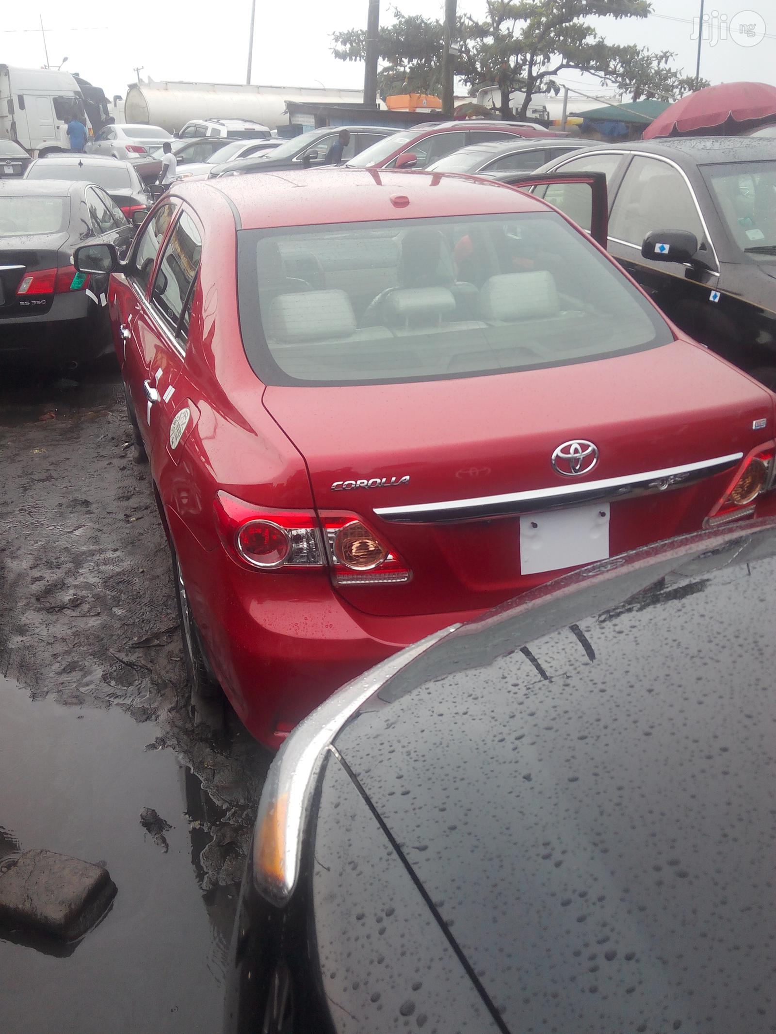 Toyota Corolla 2010 Red | Cars for sale in Amuwo-Odofin, Lagos State, Nigeria