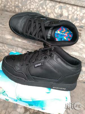 Black School Shoe by Sketchers | Children's Shoes for sale in Lagos State, Lagos Island (Eko)