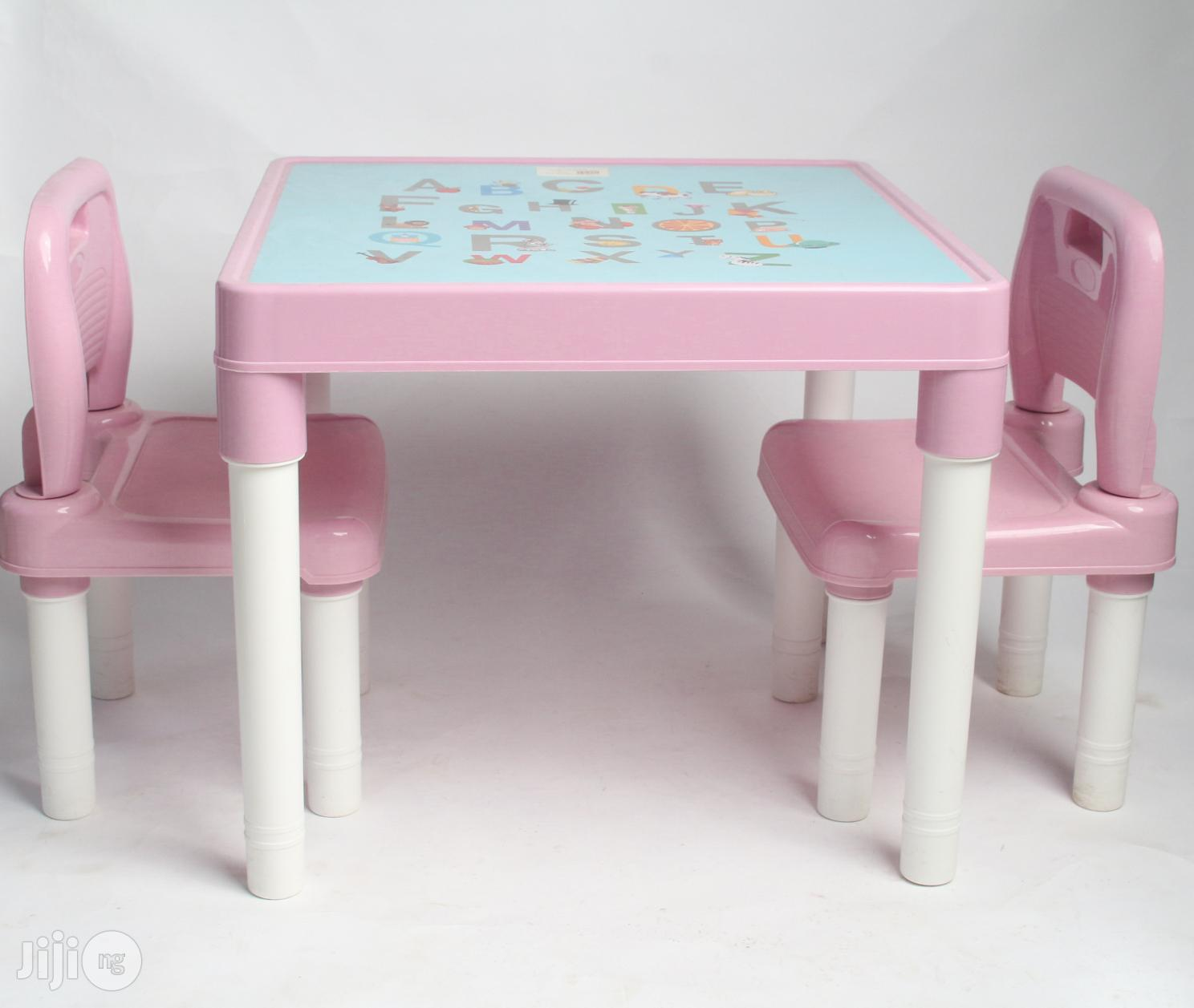 Children Plastic Chair And Table