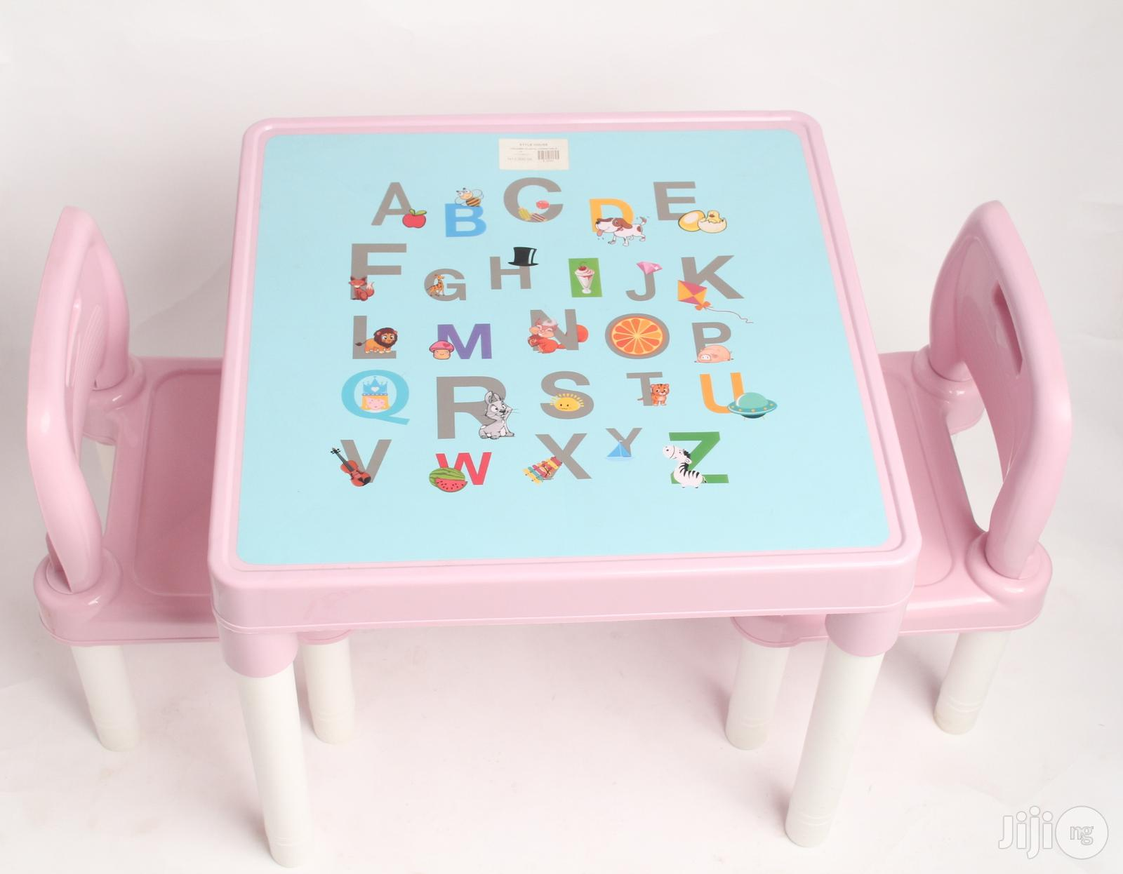 Children Plastic Chair And Table   Children's Furniture for sale in Alimosho, Lagos State, Nigeria