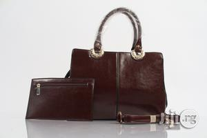 Leather Handbag, Brown   Bags for sale in Lagos State, Alimosho