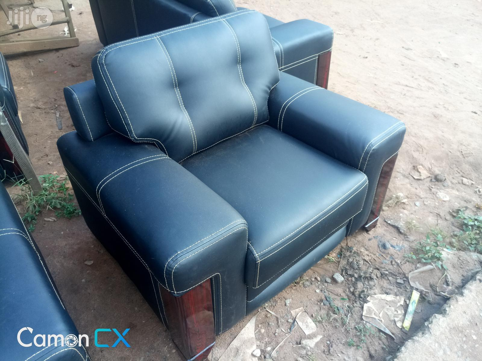 High Quality Black Sofa
