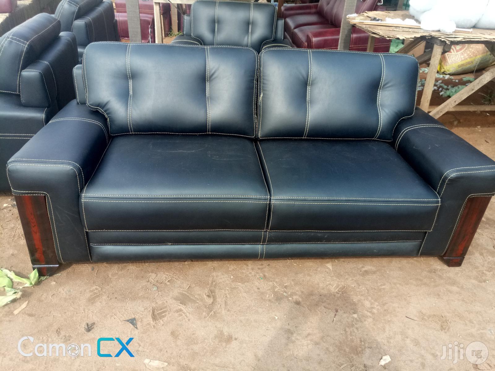 High Quality Black Sofa | Furniture for sale in Ikpoba-Okha, Edo State, Nigeria