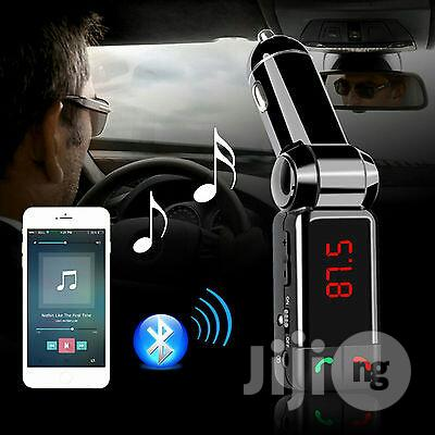 Car MP3 Player With FM Transmitter / USB Charging Port / AUX-IN | Vehicle Parts & Accessories for sale in Ikeja, Lagos State, Nigeria