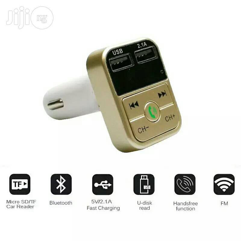 B2 Car MP3 Players FM Transmitter Modulator Car Kit | Vehicle Parts & Accessories for sale in Ikeja, Lagos State, Nigeria