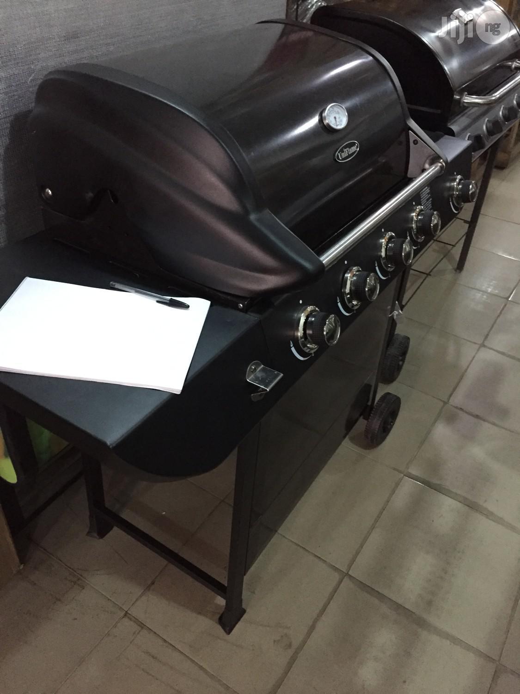Gas Bbq Grill Machine