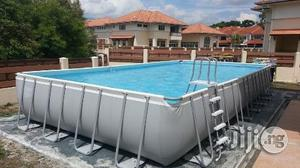 18ft by 9ft Above Ground Intex Pool | Sports Equipment for sale in Rivers State, Port-Harcourt