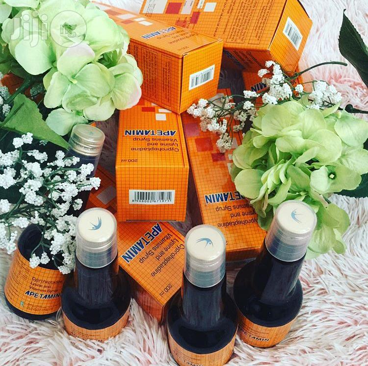 Apetamin Syrup - Gain Weight & Improve Your Body   Vitamins & Supplements for sale in Karu, Abuja (FCT) State, Nigeria