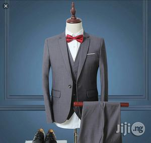 Mens Fitted Suit   Clothing for sale in Lagos State, Ifako-Ijaiye