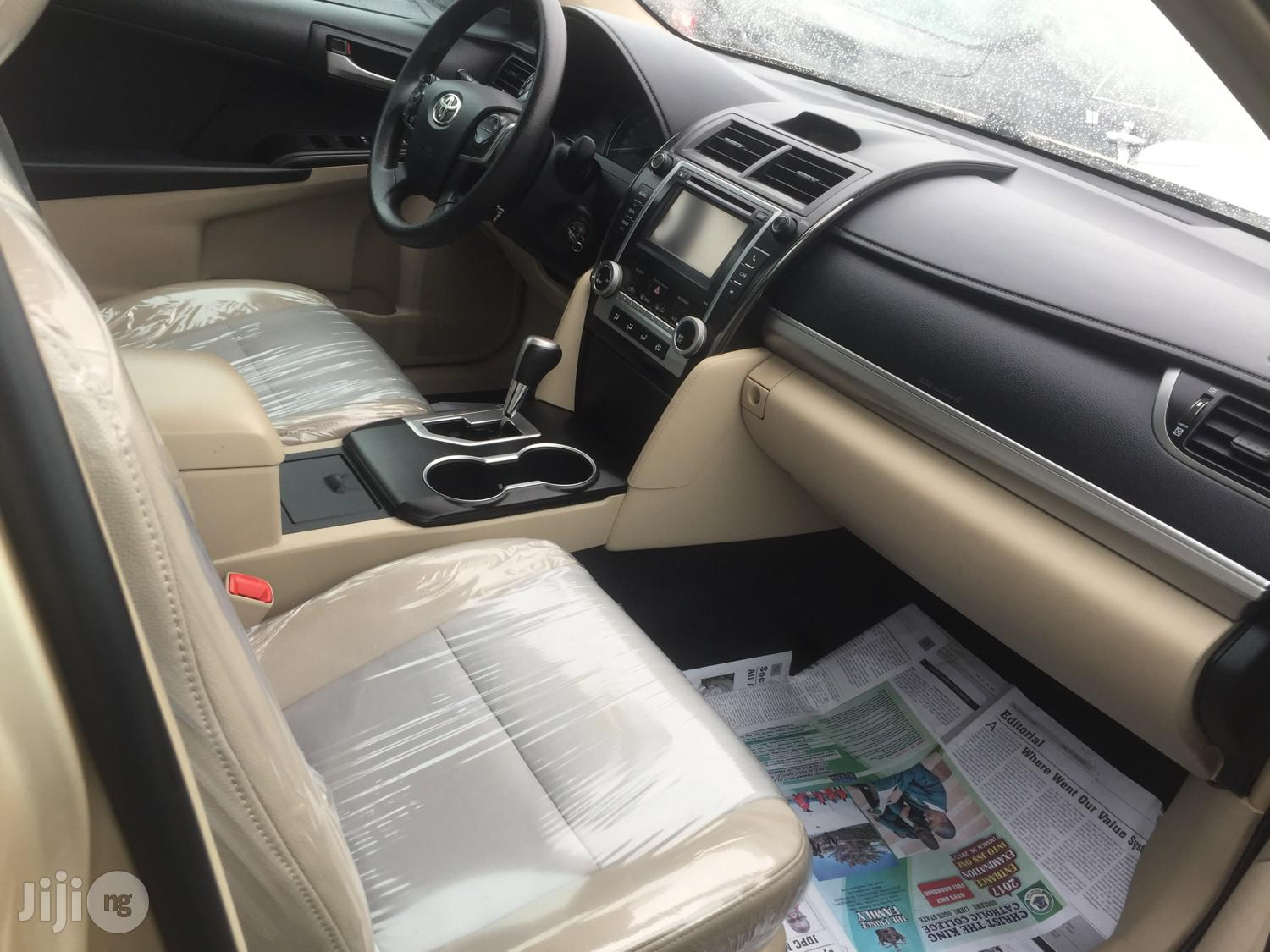 Toyota Camry 2013 Gold | Cars for sale in Apapa, Lagos State, Nigeria