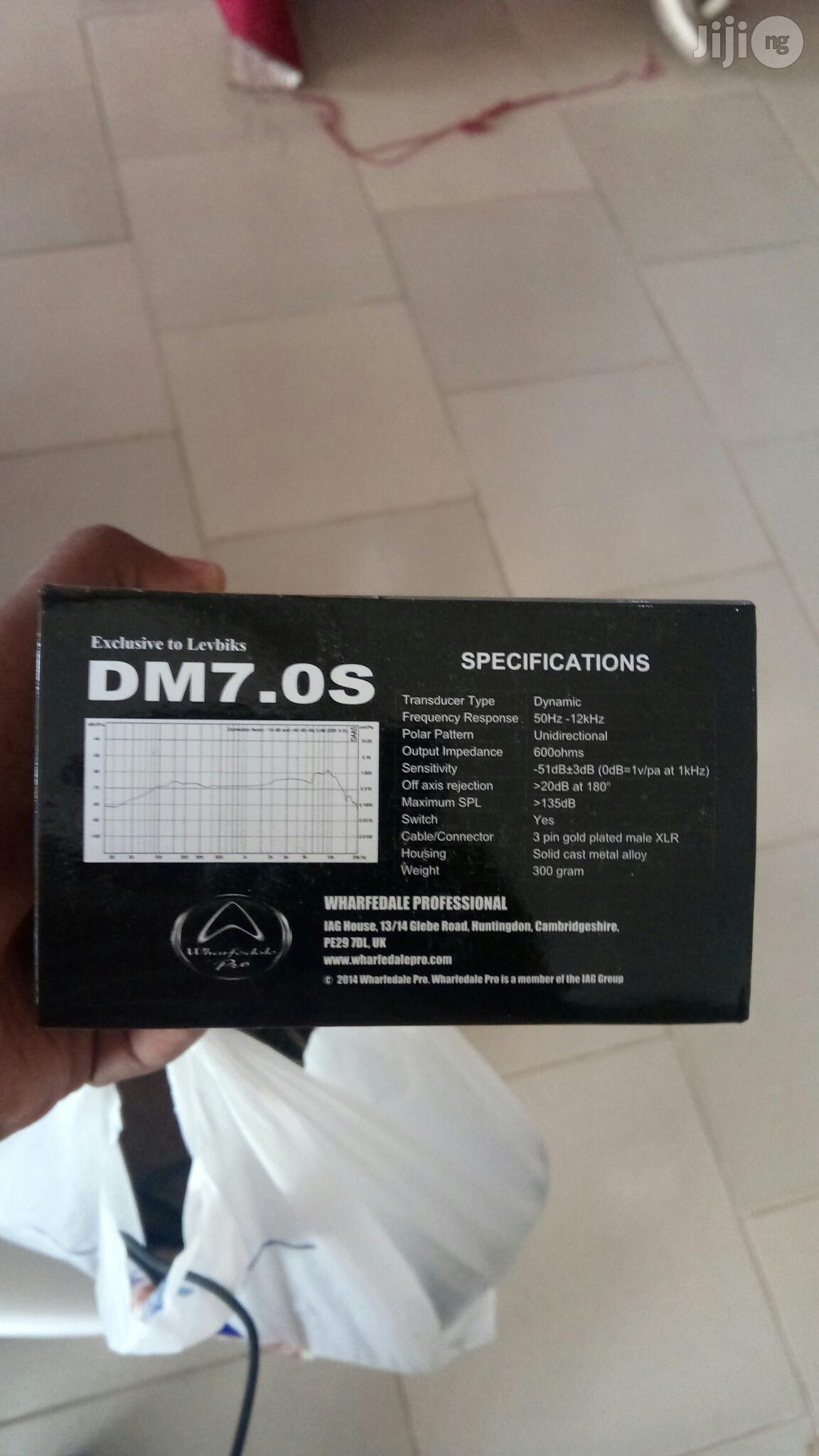 Wharfedale Pro Live Wired Dynamic Microphone DM7.0S | Audio & Music Equipment for sale in Ikeja, Lagos State, Nigeria