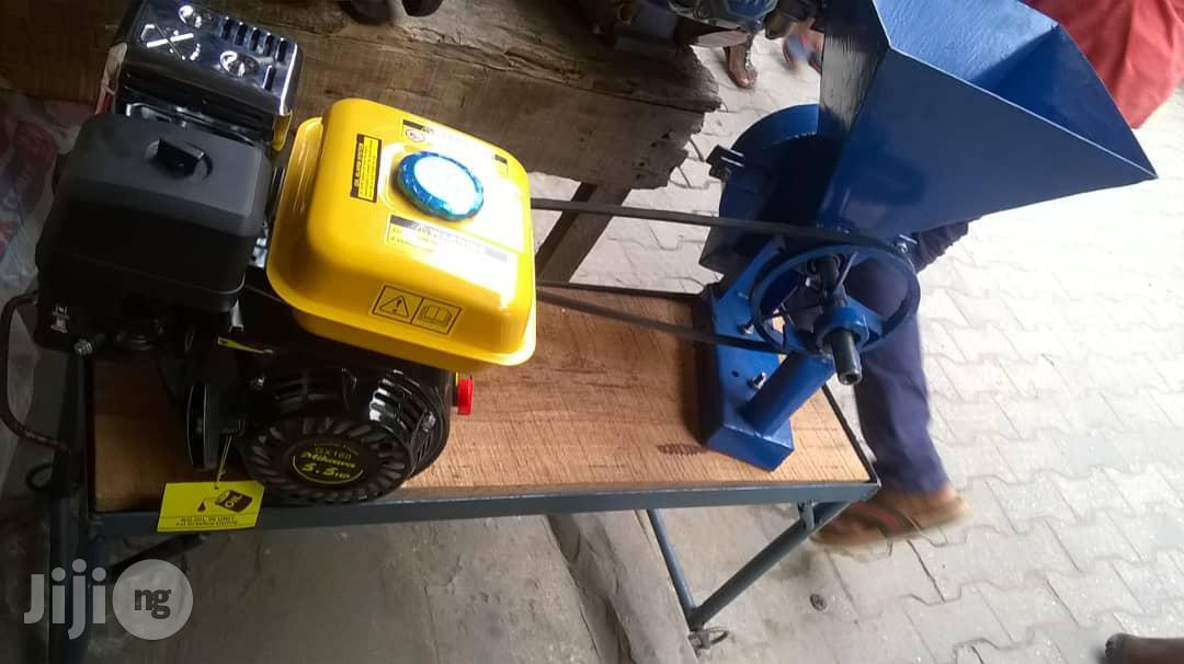 Complete Petrol Grinding Machine GX160 With Mil
