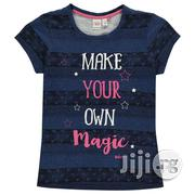 Lee Cooper Textured AOP T Shirt Junior Girls | Children's Clothing for sale in Lagos State, Shomolu