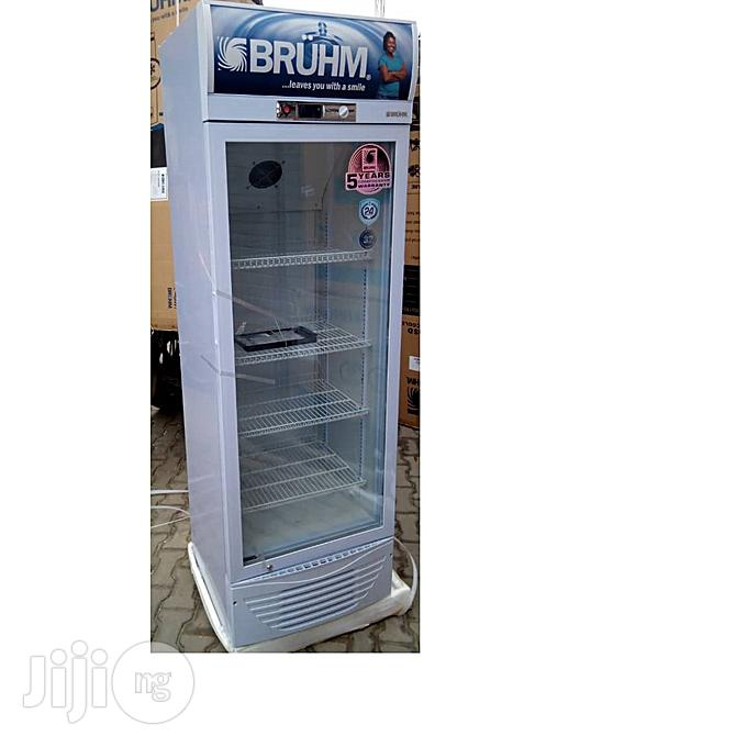 Bruhm Standing Chiller (Beverage Cooler) 273L BFV 300 SD - Silver