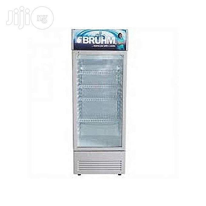 Bruhm Standing Chiller (Beverage Cooler) 273L BFV 300 SD - Silver | Store Equipment for sale in Central Business Dis, Abuja (FCT) State, Nigeria