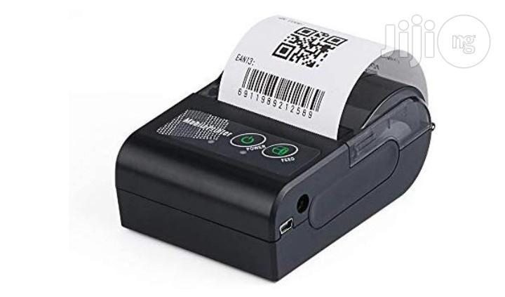 Portablei 58mm Wireless Bluetooth Mobile Thermal POS Printer