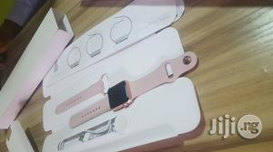 Opened Box Apple Iwatch Series1 (38mm) Rosegold Colour   Smart Watches & Trackers for sale in Lagos State, Ikeja