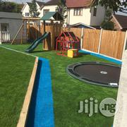 Wave Goodbye To Mud, Fake Grass Installation | Garden for sale in Lagos State, Ikeja