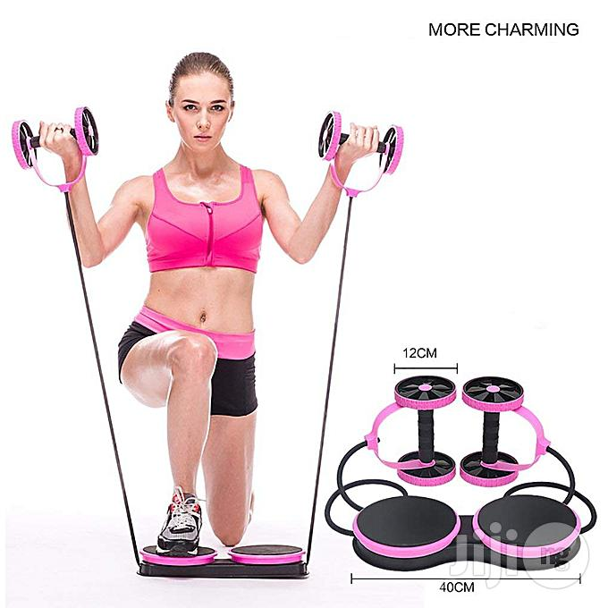 Multifunctional Abdominal Wheel Roller Fitness For Abdominal Fitness & Twist Weight