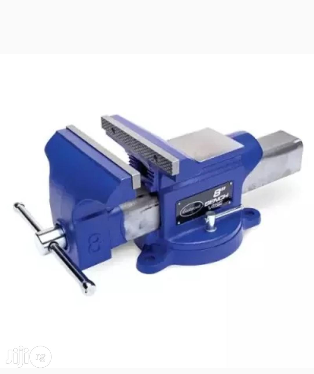 """Archive: 8"""" Light Duty Industrial Bench Vice"""