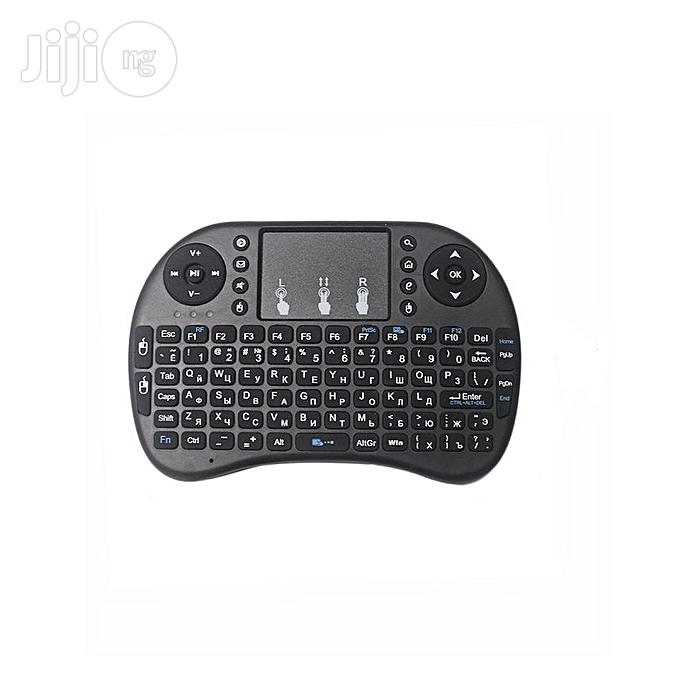 Portable Wireless Keyboard With 3 Colour Backlight Mouse