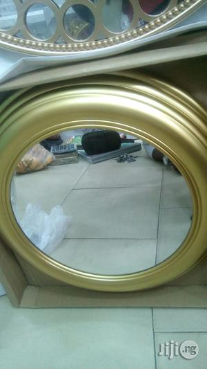 Gold Round Mirror | Home Accessories for sale in Lagos State, Surulere