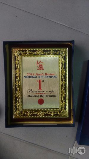 Award Plague With Printing | Legal Services for sale in Lagos State, Ikeja