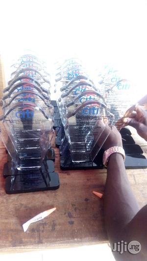 Presentable Acrylic Award With Printing | Arts & Crafts for sale in Lagos State, Ikeja
