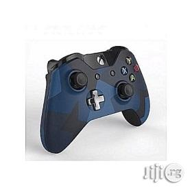 Microsoft Xbox One Wireless Controller Pad - Midnight Forces | Accessories & Supplies for Electronics for sale in Lagos State, Ikeja