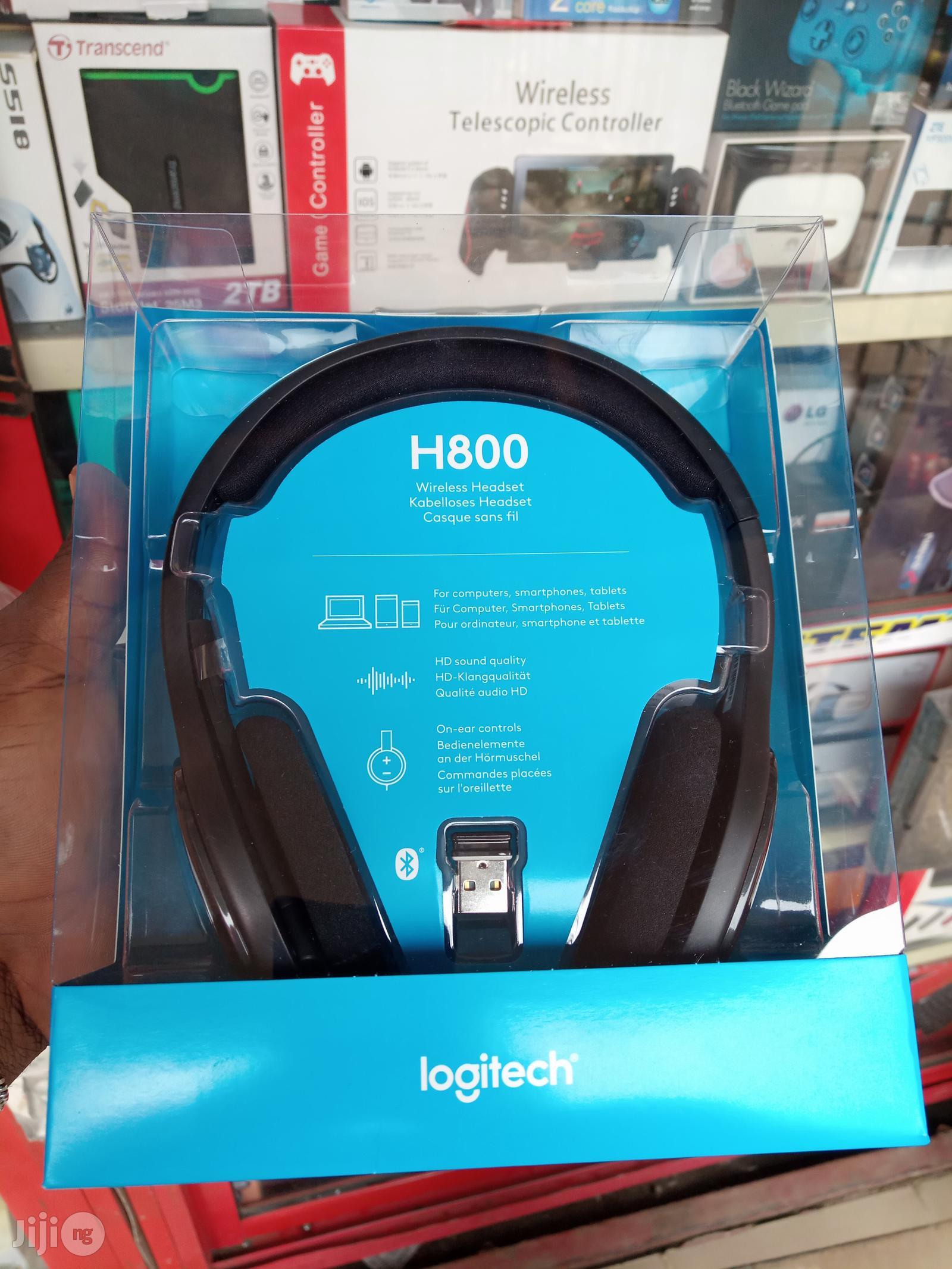 Bluetooth Logitech Headphone H800 In Ikeja Headphones Don Captain Gadgets Jiji Ng For Sale In Ikeja Buy Headphones From Don Captain Gadgets On Jiji Ng