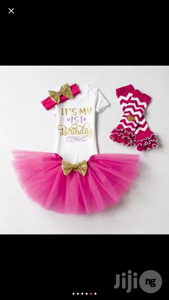 Archive: Girls 1st/2nd Birthday Party Princess Tutu Outfit/ Butterfly Wing Set