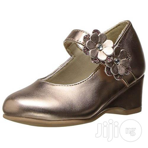 Rachel Shoes Lil Chantel Wedge - Rose Gold