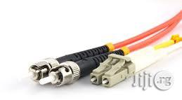 Fiber Optics Duplex Patch Cable LC-ST 1M MM | Accessories & Supplies for Electronics for sale in Lagos State, Ikeja