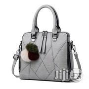 Zipper Pattern Handbag - Ash/Grey   Bags for sale in Lagos State, Gbagada