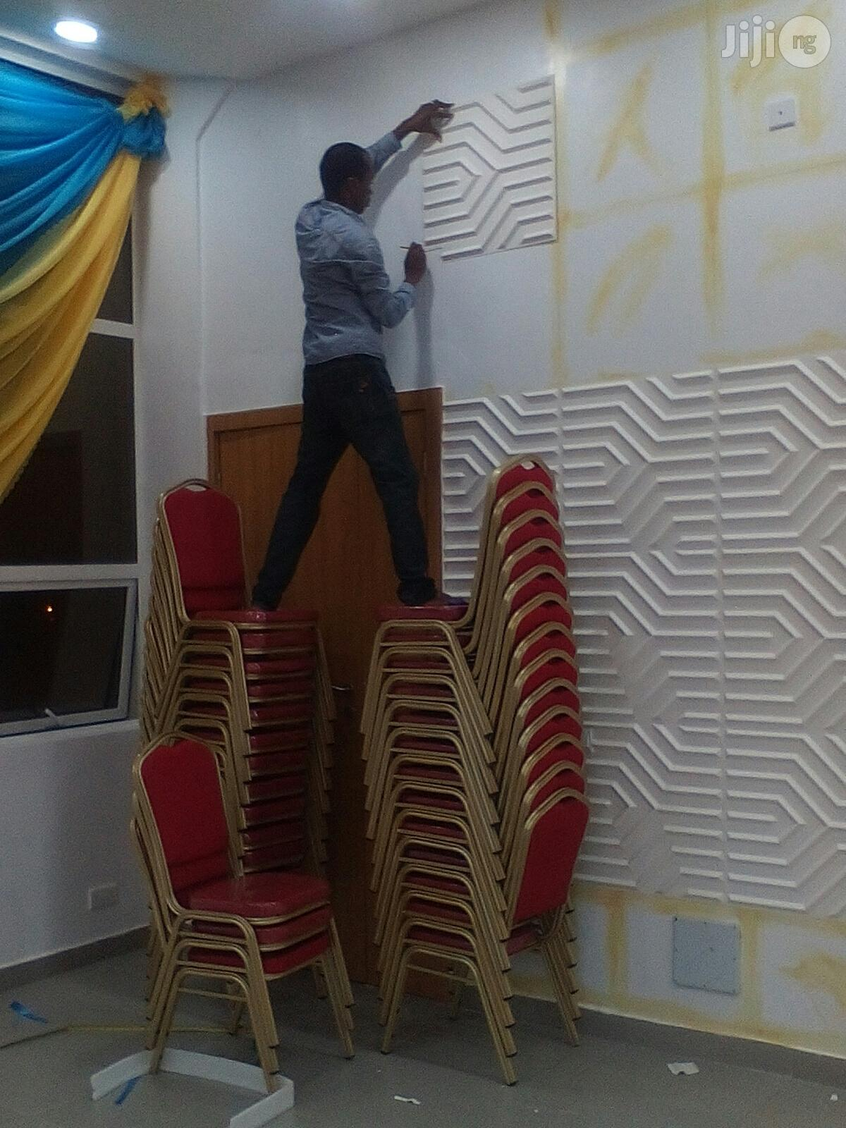 Archive: Wallpapers/Wallpanels/Wall Screeding/Pop/Window Blind And Installation