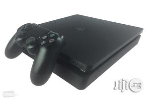 London Used Playstation 4 Slim + FIFA 19 + 7 Other Games | Video Game Consoles for sale in Lagos State, Ikeja