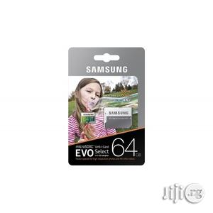 Samsung 64GB Microsdxc EVO Select Memory Card   Accessories for Mobile Phones & Tablets for sale in Lagos State, Lagos Island (Eko)