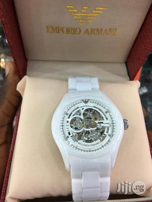 Emporio Armani Ceramic Chain Automatic Engine Watch   Watches for sale in Lagos State, Surulere