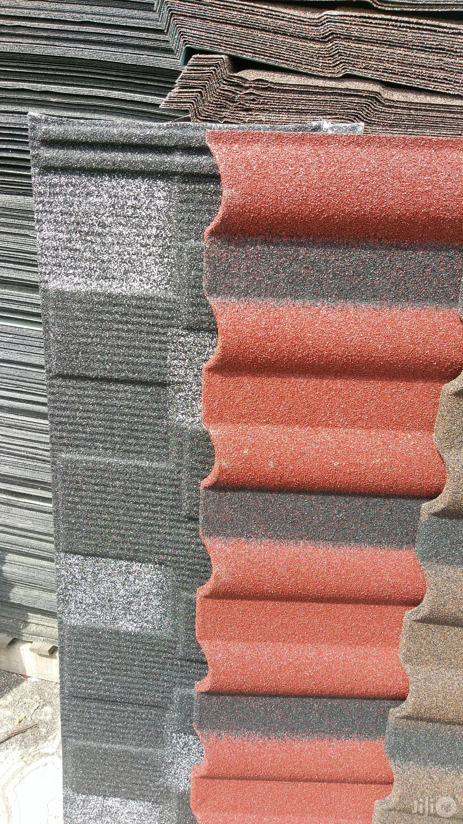 Wichtech Gerard (Milano Red And Black) Stone Coated Roofing Sheet