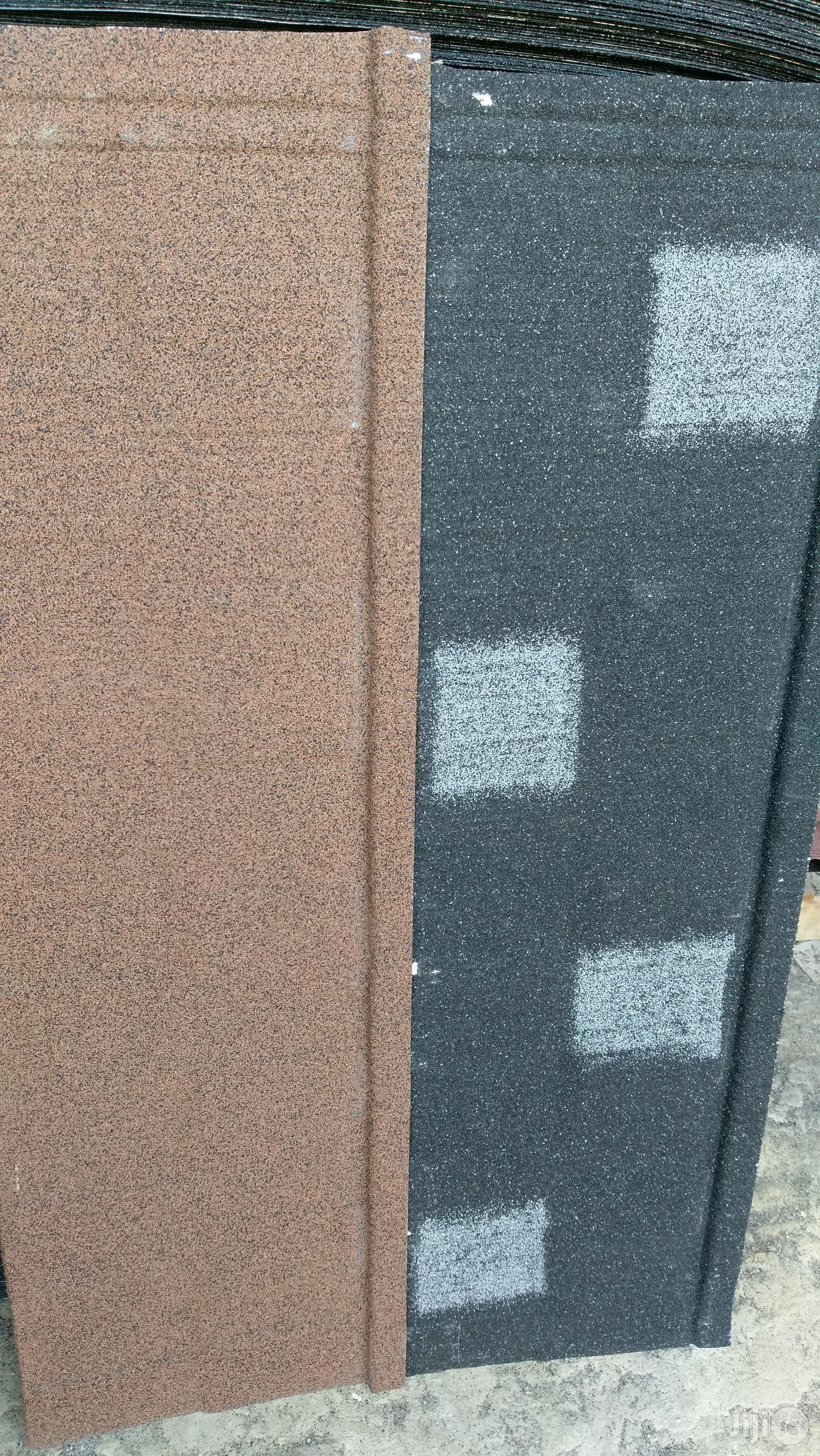 Wichtech Gerard (Milano Red And Black) Stone Coated Roofing Sheet   Building Materials for sale in Ajah, Lagos State, Nigeria