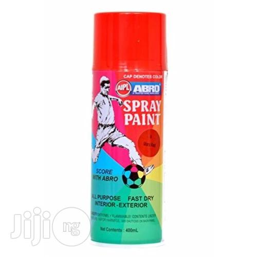 Spray Paint - Red