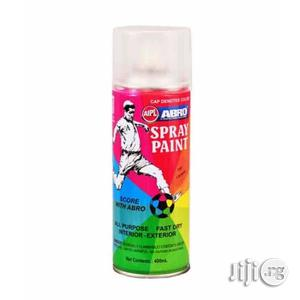 ABRO Spray Paint - Clear | Building Materials for sale in Lagos State, Lagos Island (Eko)