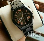 Enporior Armani Black Wristwatch | Watches for sale in Lagos State, Surulere