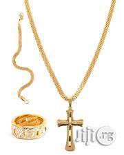 Brazilian Steel 18karat Gold Plated | Jewelry for sale in Lagos State, Ojo