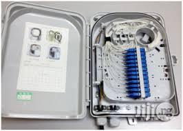 Outdoor 24 Port/COR Distribution Box Optical Fiber Cable Junction Box/ | Accessories & Supplies for Electronics for sale in Lagos State, Ikeja