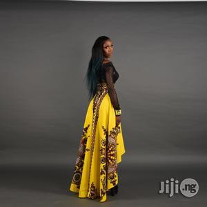 Luxury Top Notch African Long Flowing Elegant Swing Skirt   Clothing for sale in Lagos State, Ikeja
