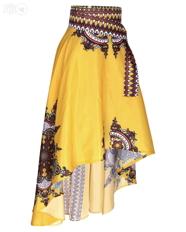 Luxury Top Notch African Long Flowing Elegant Swing Skirt   Clothing for sale in Ikeja, Lagos State, Nigeria