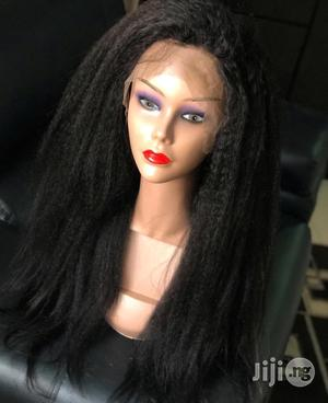 """26"""" Luxury Kinky Straight Wig 