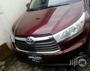 Toyota Highlander 2015 Red   Cars for sale in Lagos State, Ikeja